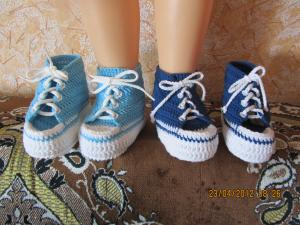 Фото Носочки пинеточки ботиночки Кеды