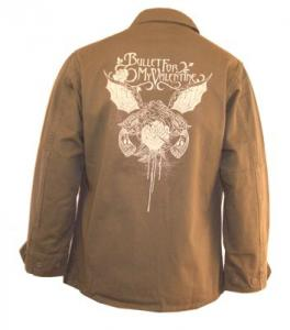 Фото Верхняя одежда, Мужская, Куртки Музыка Куртка BULLET FOR MY VALENTINE