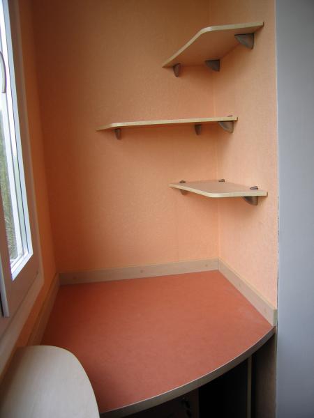 Оформление балкона, заказать в харькове, цена 900 грн./шт., .