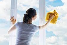 Фото  Мойка окон, витрин, фасадов зданий. Обслуживание и уборка зданий и территорий.