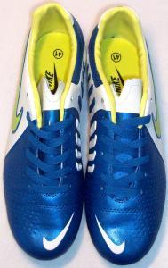 Фото БУТСЫ Бутсы Nike Libretto голубо-белые