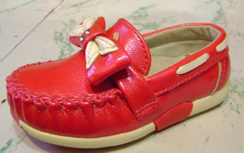 Детские Туфли - макасины Y.E.Y девочка малино