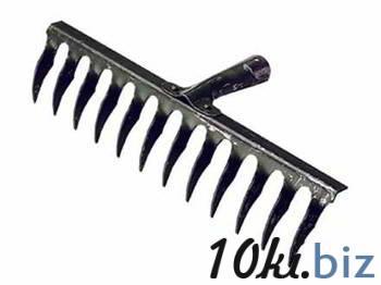 Грабли садовые, 12 зубьев, металл