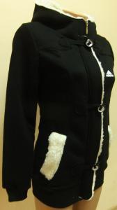 Фото Вся спортивная женская одежда Женская спортивная кофта, длинная на байке 21012