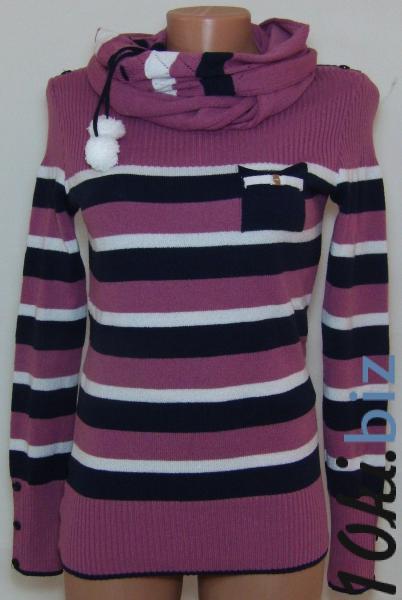 Женская кофта с шарфом 23015 (только 42,44 и 48р.)