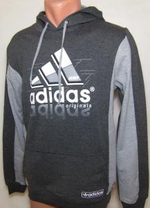 Фото Вся спортивная мужская одежда Кофта спортивная с капюшоном 11028 (только М)