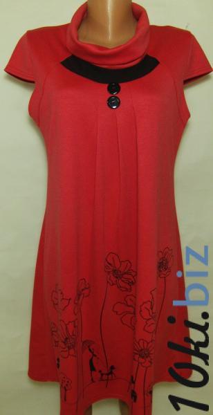 Туника женская 23028 (цвет коралл )