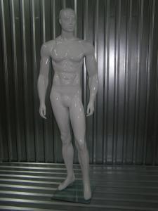 Реалистичный гипсовый манекен мужской