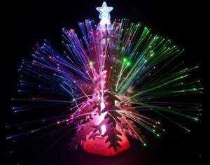 Фото Светящиеся ёлки Ёлка деревянная / ЗD-головоломка со светом и музыкой