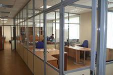 Фото  Раздвижные стены и перегородки для офисов и помещений