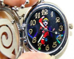 Фото Часы Часы с объемной эмблемой Конохи карманные