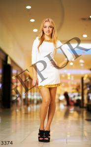 Фото УКРАИНА, Короткие платья 3373 / 3374 / 3375