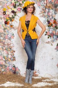 Фото Модели под заказ Жилет женский модель 4002 размер 52, 54, 56