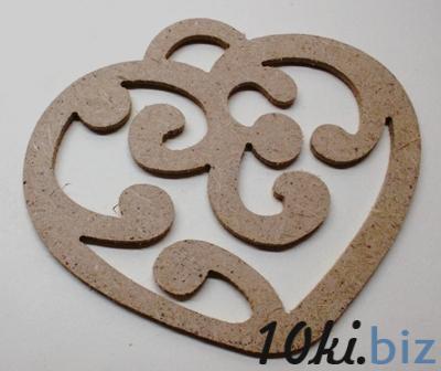 Сердце 02 орнамент подвеска
