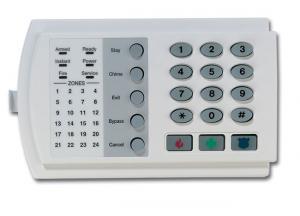Фото ОХРАННО-ПОЖАРНАЯ СИГНАЛИЗАЦИЯ , ОПС «CADDX» , Клавиатуры и пульты управления «CADDX»  Клавиатура NX-124 «CADDX»