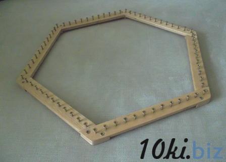 Как сделать рамку для вязания салфеток