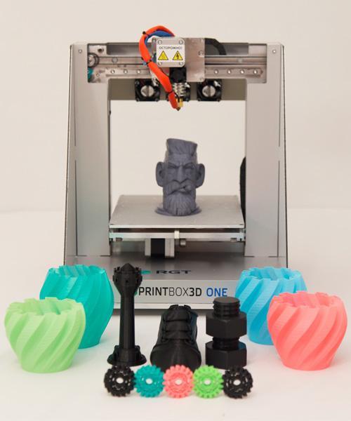 3D-принтер, используемый для печати