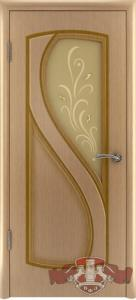 Фото Шпонированные двери Владимирской фабрики Межкомнатная шпонированная дверь