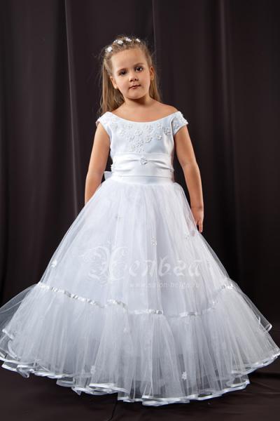 Фото для детского сада Платье для девочки, модель Снежинка