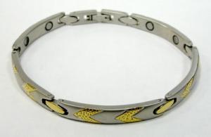 Фото Магнитные браслеты, Стальные Магнитный стальной браслет Диана