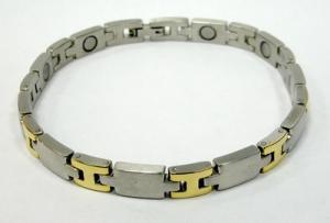 Фото Магнитные браслеты, Стальные Магнитный стальной браслет Гектор