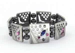 Фото Магнитные браслеты, Гематитовые Магнитный гематитовый браслет Дениза