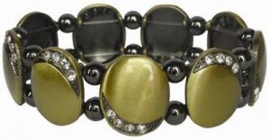 Фото Магнитные браслеты, Гематитовые Магнитный гематитовый браслет Олли