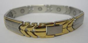 Фото Магнитные браслеты, Стальные Магнитный стальной браслет Беата