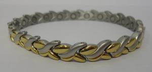 Фото Магнитные браслеты, Стальные Магнитный стальной браслет Фелиция