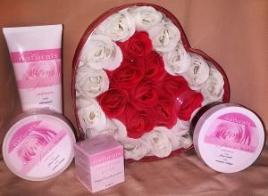 Фото  Розовое сердце
