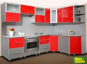 Фото Каталог кухонь, Кухни с акриловами фасадами АГТ Фото кухонь 2
