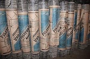 Фото Кровельные рулонные материалы, гидроизоляция Рупероид подкладочный РПП 300 (15м)