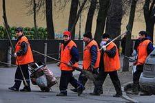 Фото УБОРКА ПРИЛЕГАЮЩЕЙ ТЕРРИТОРИИ