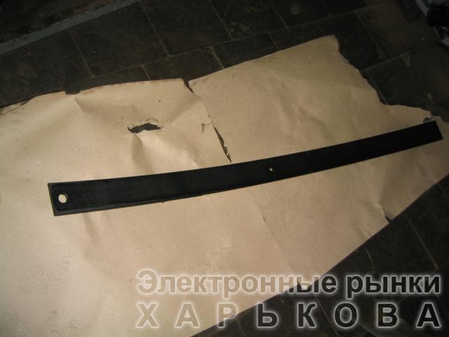 Лист рессоры № 1 передней 500А-2902101-10 МАЗ 1642мм (пр-во Чусовая)
