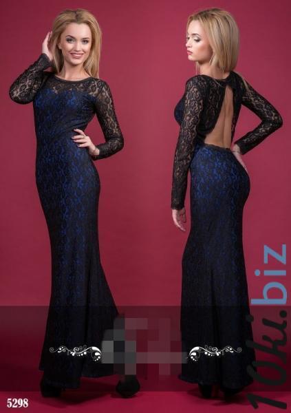 Фото платьев с гипюровой открытой спиной