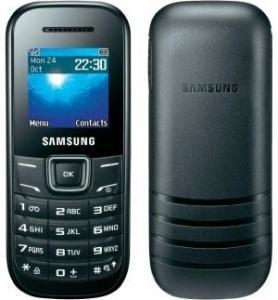 Фото Мобильные телефоны, Samsung Мобильный телефон Samsung E1200 Black