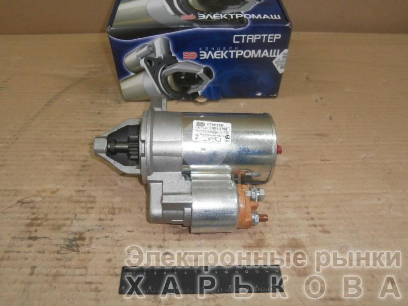 Стартер 581.3708 ВАЗ 2101-2107, 2121 (на пост. магнитах) (пр-во Электромаш)