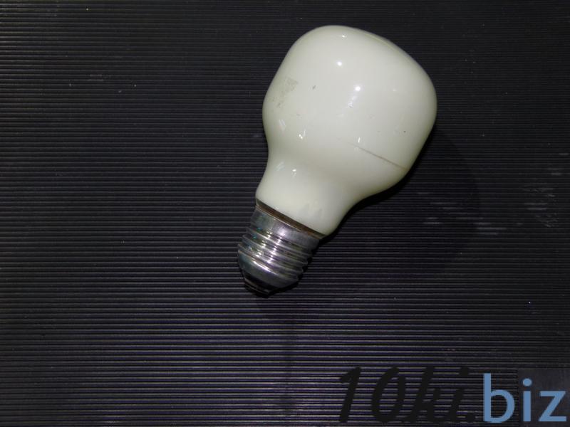 лампа накаливания салатовая 60W  Е 27
