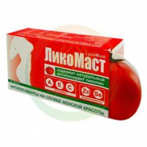 Фото Аюрведические препараты ЛикоМаст (LycoMust) капсулы