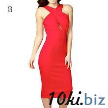 2015 лето мода женщин сексуальная холтер вечернее платье оболочка бинты ну вечеринку платья без рукавов спагетти ремень vestido де феста