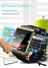 2015 Relogios носить 2015 новое поступление механическая цифровой телефон часы с Sim и tf карта золото и серебро для мобильного Bluetooth смарт