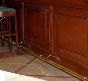 Фото Фурнитура для Барных стоек, Кронштейны для труб Кронштейн для опоры под ноги (101 - 50)