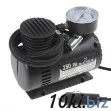 Портативный 12 В 90 Вт 250PSI авто электрический насос воздушный компрессор шин инфлятором с 3 пневматические сопла