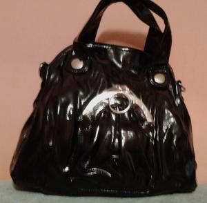 Фото Женские сумки Женская сумка черная с декором