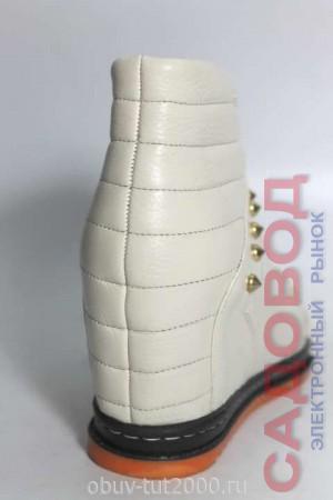Ботинки CLOVIS Артикул: B-2 / БЕЖЕВЫЙ