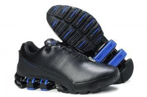 Фото ОБУВЬ, Мужская Обувь, Кроссовки Adidas Porsche P5000 черный с синим/кожа