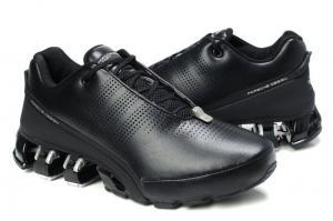 Фото ОБУВЬ, Мужская Обувь, Кроссовки Adidas Porsche P5000 черный с серым/кожа