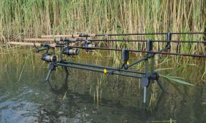 Подставка под удилища Strategy Strategy Strat 3 Pod 131x122x143cm, Купить в Обухове, (Активный отдых и туризм, Товары для рыбной