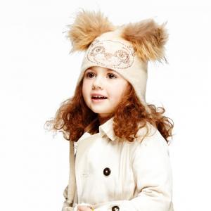 Фото Детская линия, Осень-Зима 2015/16, Девочки ШАПКА МИШКА/30628