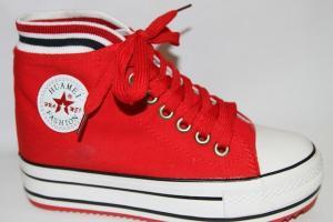 Фото Спортивная обувь, Кеды Кеды В05 red